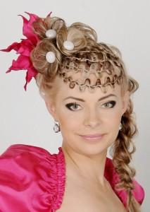 Плетение ажурных кос